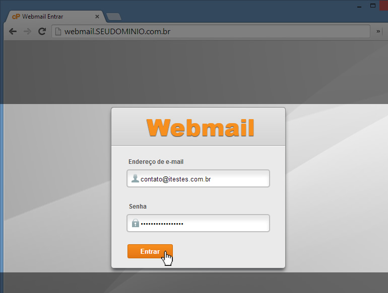 Acessar WebMail - Passo 2