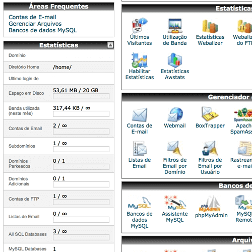 Painel cPanel